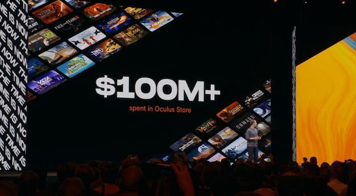 oculus quest 100 millones store