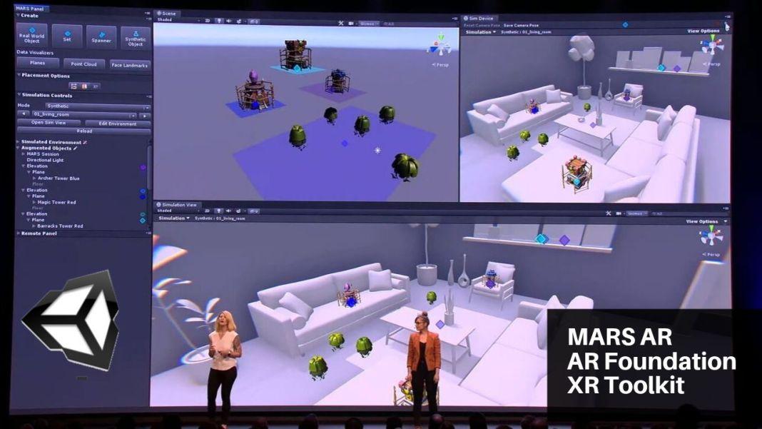 unity realidad aumentada Mars XR toolkit ar foundation
