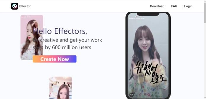 effector tik tok augmented reality