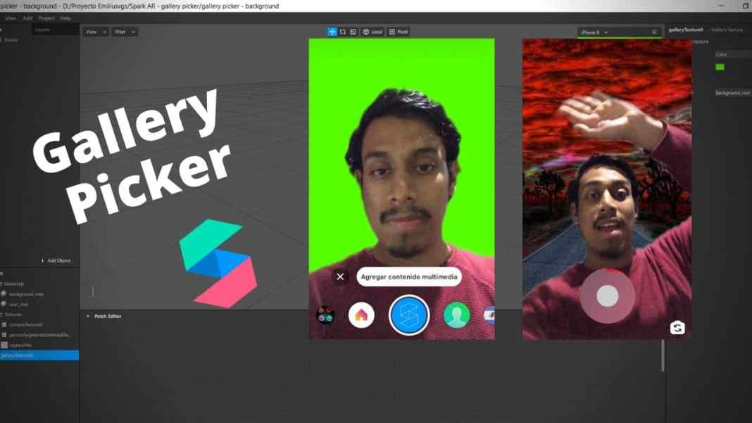 spark ar gallery picker