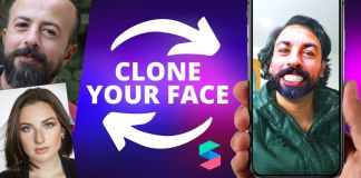 Spark ar face clone render pass
