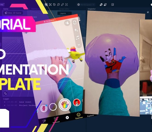 Lens Studio Hand Segmentation