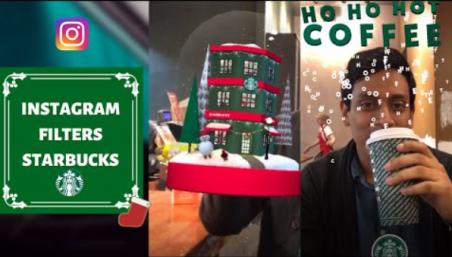 realidad aumentada filtro Starbucks