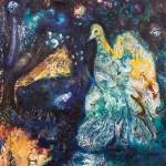 The Night Peacock (giclée)