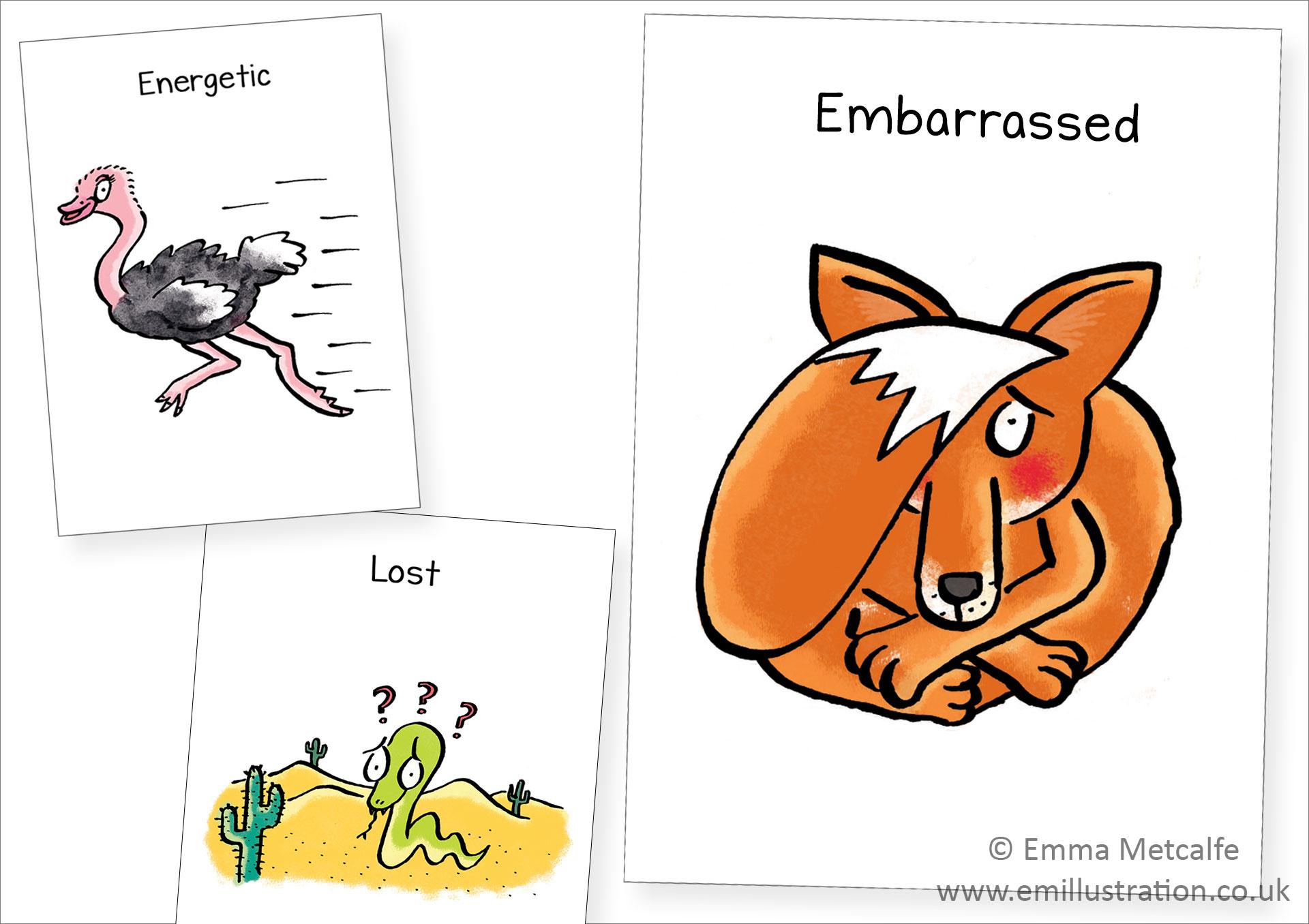 The Utic Flashcards Using Animals To Help Children
