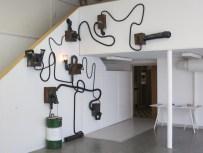 Konstverk på skolan HDK av Emil Österholm