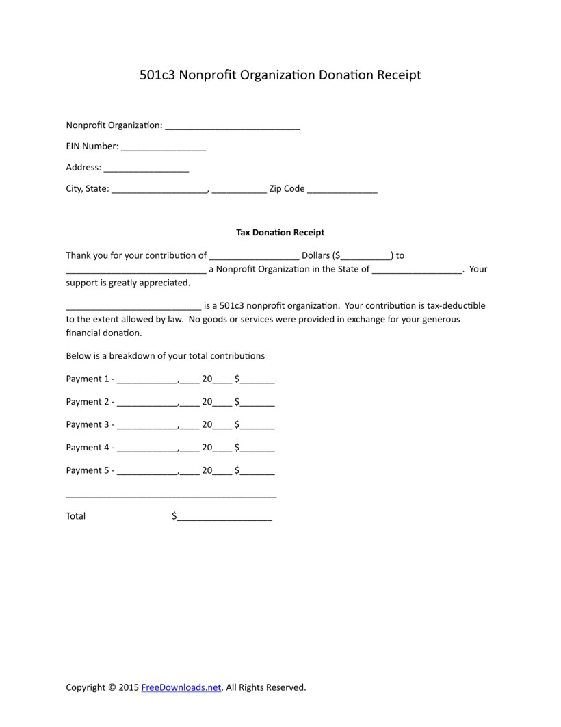 in kind donation acknowledgement letter template