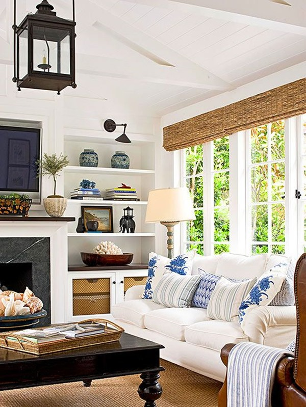 Dissecting The Details: A Classic, Casual Living Room ... on Fireplace Casual Living id=97017