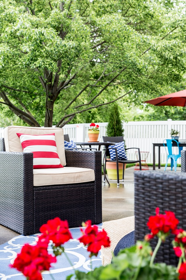 lowe s spring makeover patio reveal