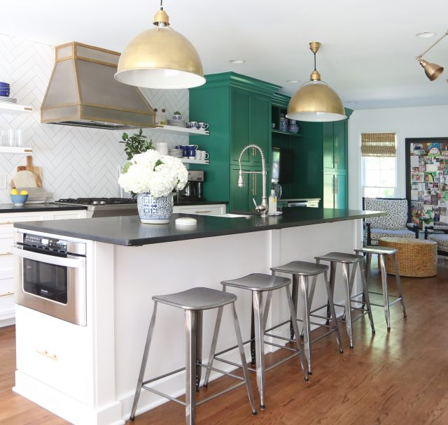 Our Black Honed Granite Kitchen Countertops - Emily A. Clark on Black Granite Countertops Kitchen  id=60135