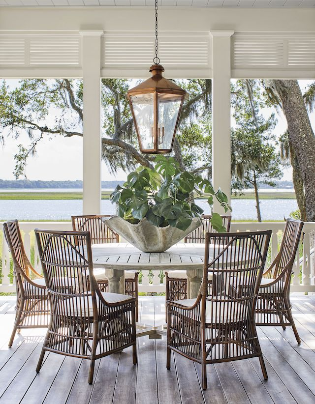 Details to Notice: 2019 Southern Living Idea House - Emily ... on Southern Outdoor Living id=81380