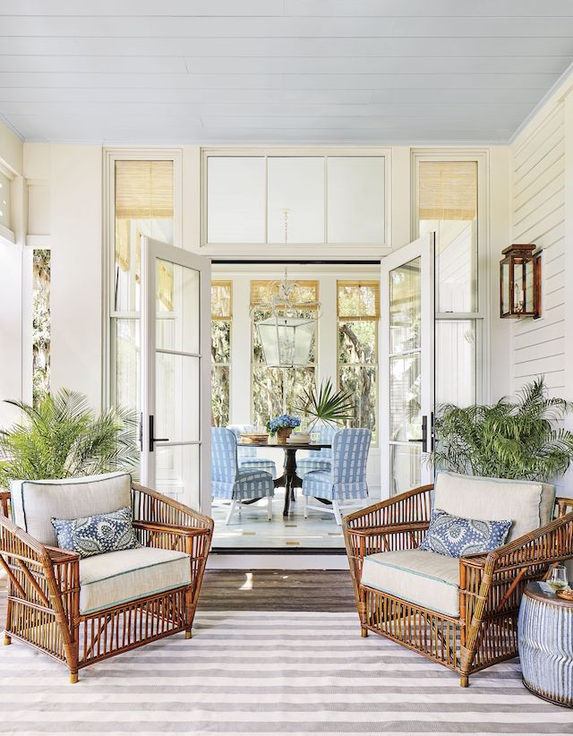 Details to Notice: 2019 Southern Living Idea House - Emily ... on Southern Outdoor Living id=56186