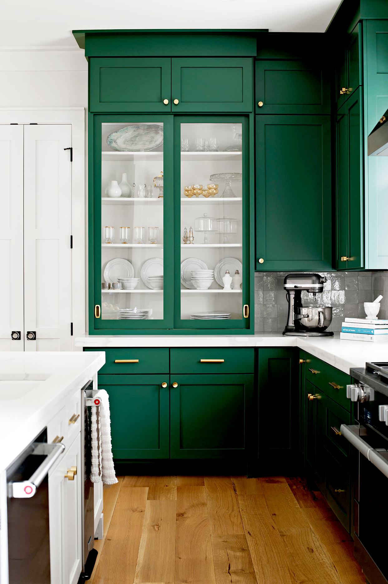 5 Shades of Green for Your Kitchen Cabinets - Emily A. Clark on Kitchen  id=48030