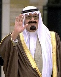 "King Abdullah  is considered ""pro women,"" but is close to 90."