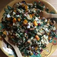 Fall Quinoa and Kale Salad