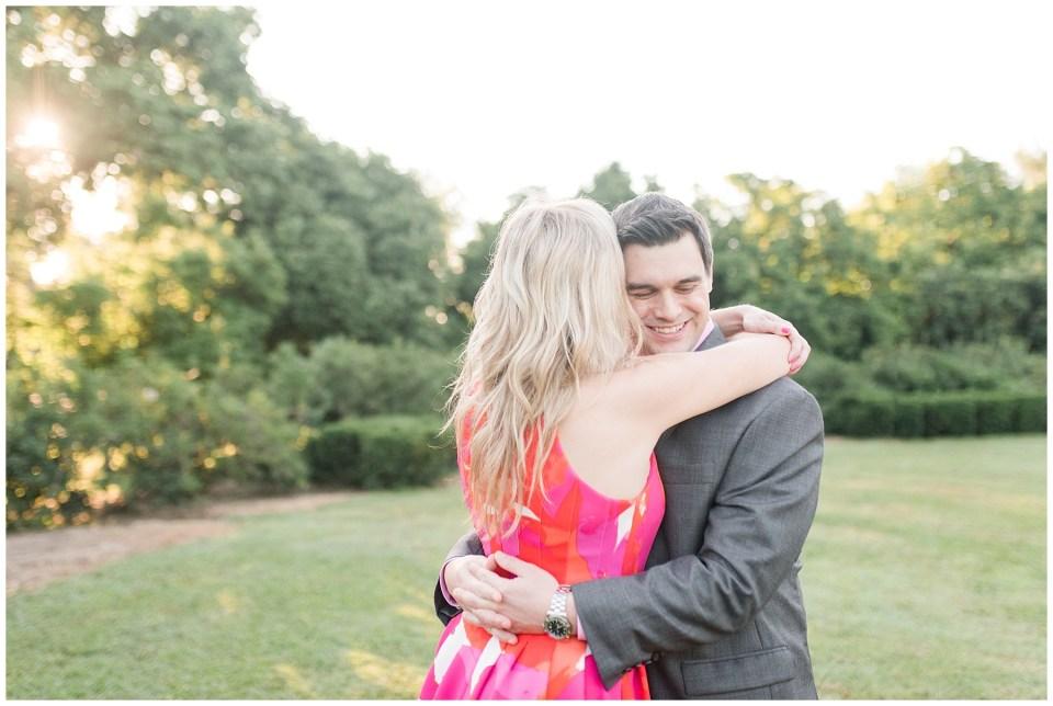Thomas Jefferson Memorial Sunrise Engagement Photos by Wedding Photographer Emily Alyssa Photography,