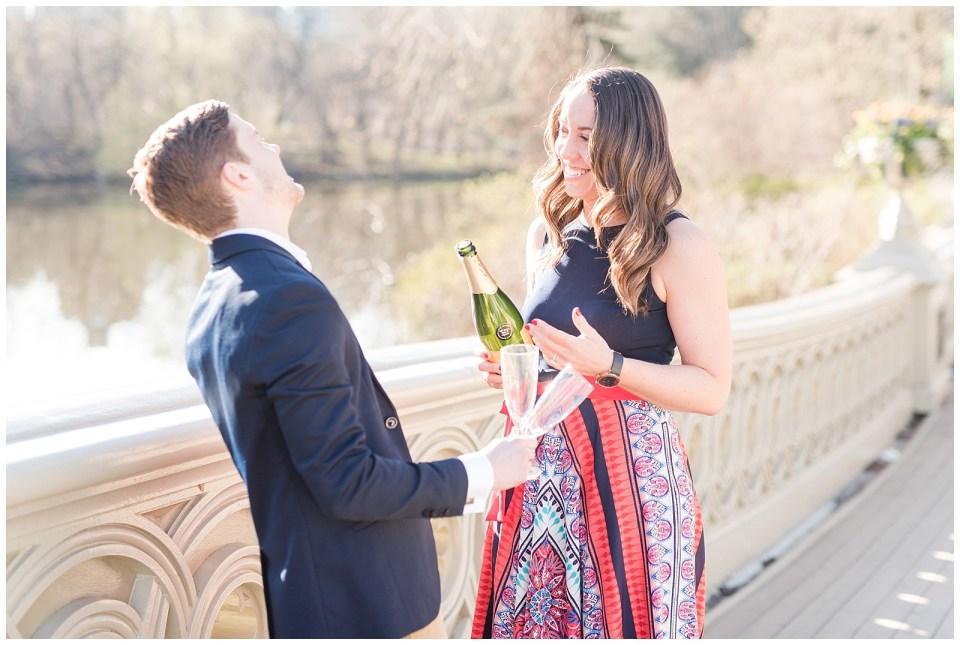 central-park-champagne-engagement-photo