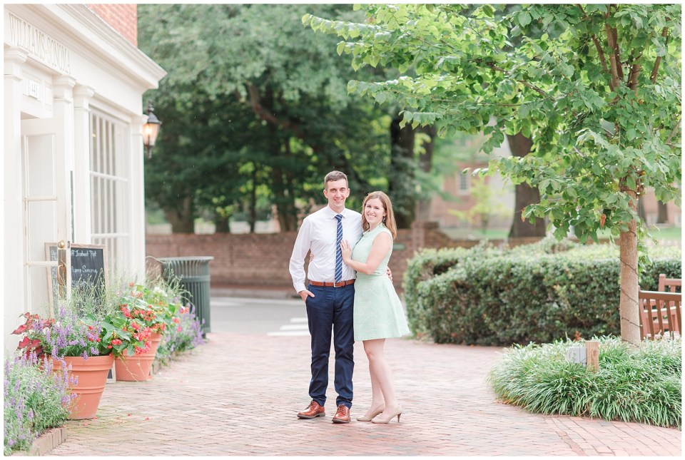 colonial-williamsburg-engagement-photo-downtown-williamsburg-historic-photo