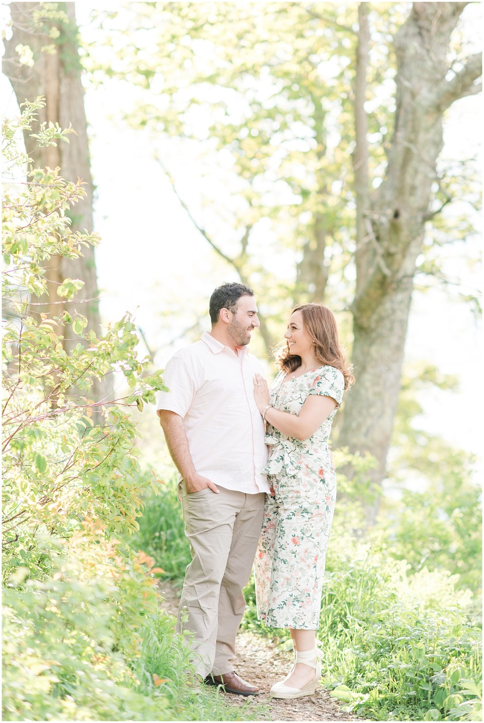 shenandoah-national-park-floral-jumpsuit-engagement-photo