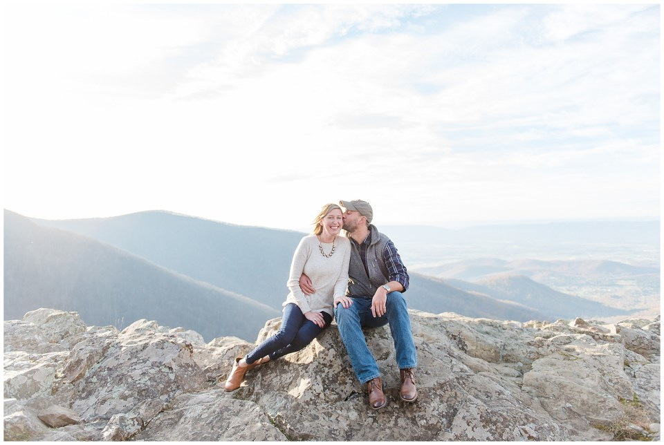SHENANDOAH NATIONAL PARK mountain engagement photos