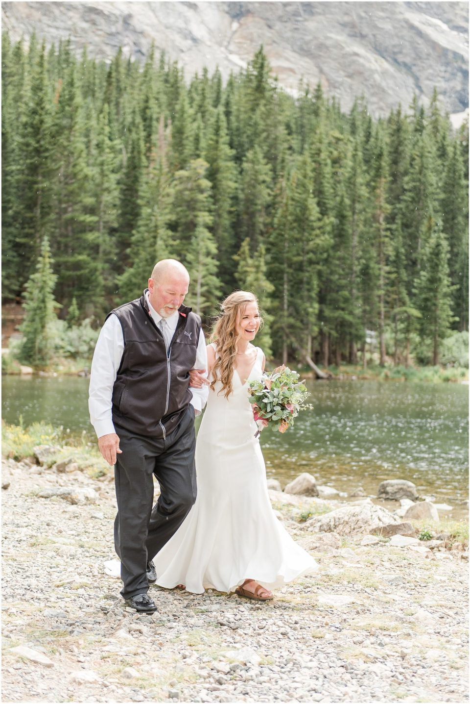 blue lakes trailhead breckenridge wedding
