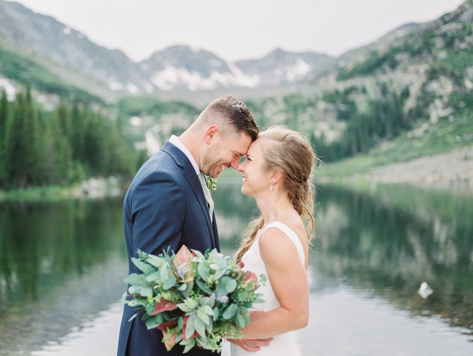 breckenridge colorado film wedding photo
