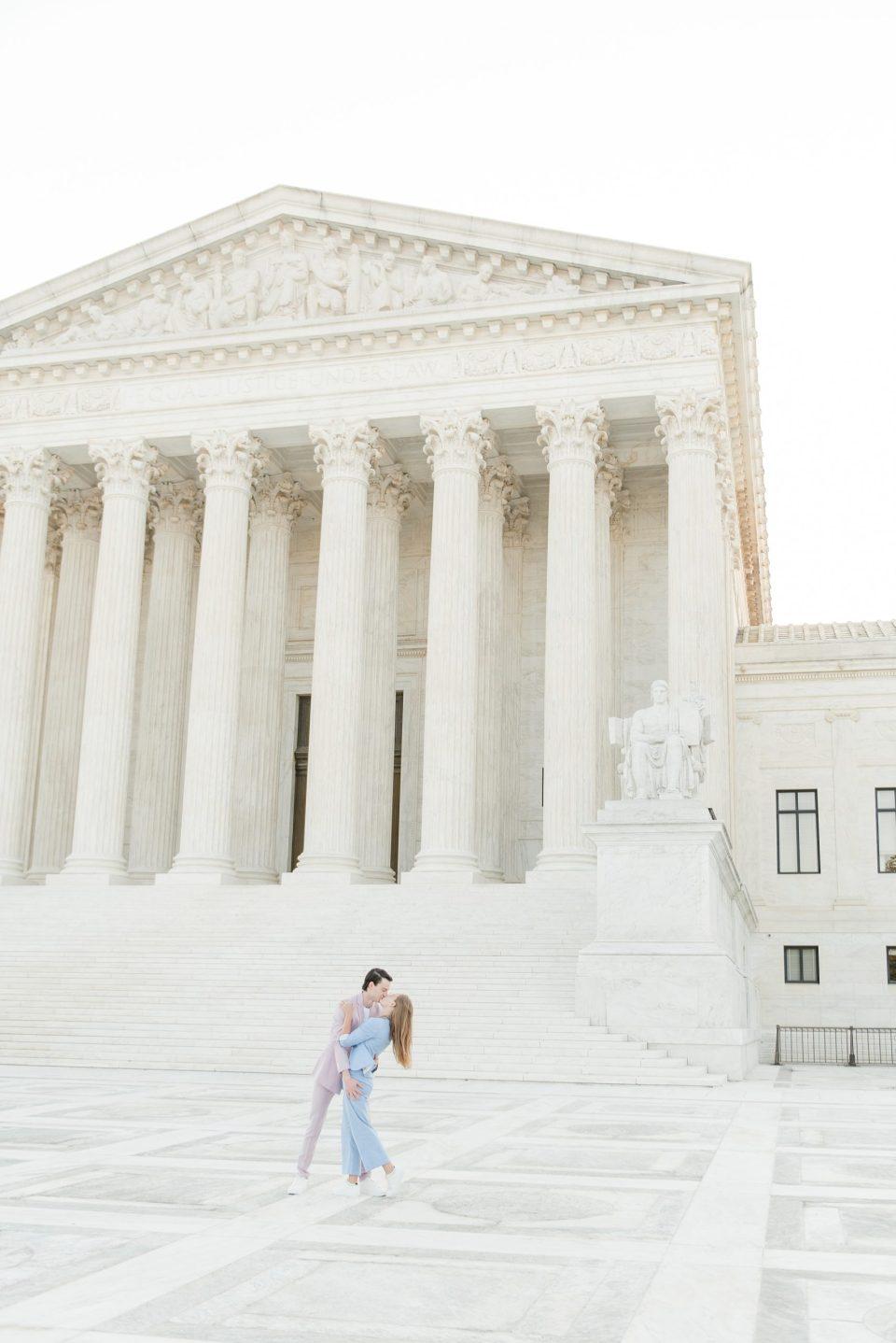 top dc engagement photographer supreme court photos