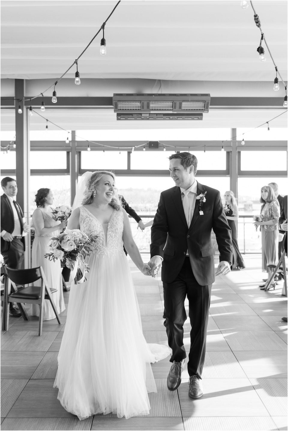 district winery wedding ceremony photo