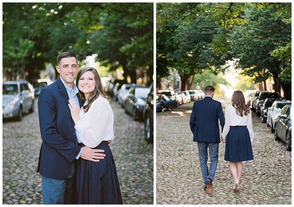 old town alexandria engagement photographer