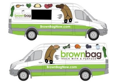 Brown Bag: Food Truck Illustrations