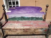 Violet bench, Old Mesilla