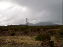 Storm over Las Cruces