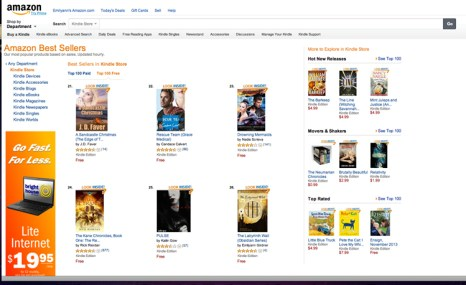 Amazon Best-Seller The Labyrinth Wall I love fantasy books!