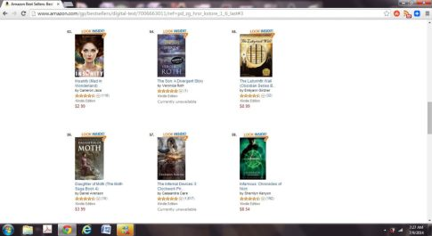 The Labyrinth Wall by Emilyann Girdner Amazon Best Seller paid Sword and Sorcery Fantasy Books