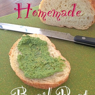 Homemade Basil Pesto