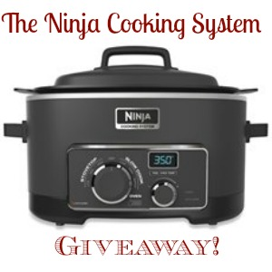 Ninja Cooking System Giveaway Random Recycling