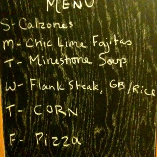 Monday Meal Plan February 4