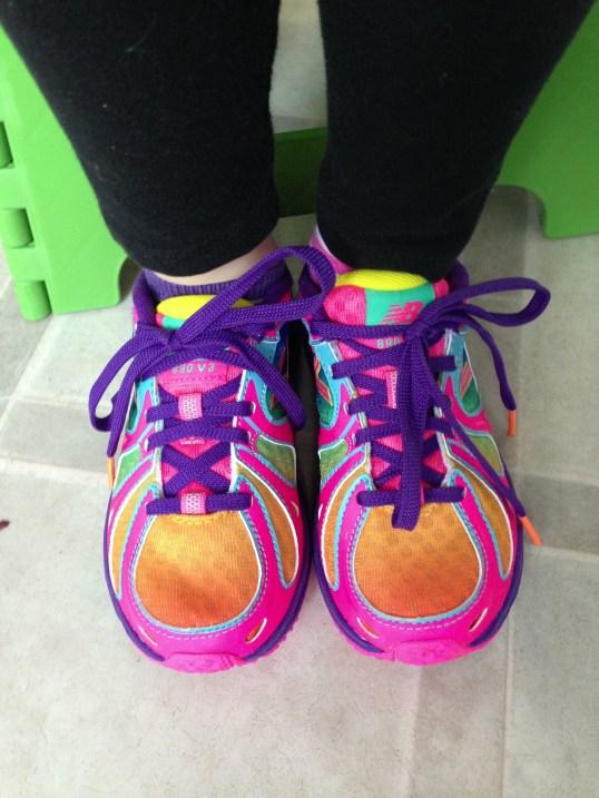 New Balance Rainbow Shoes RandomRecycling.com