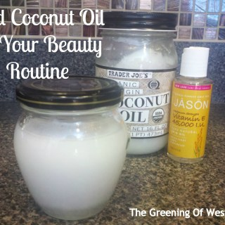 Coconut Oil:  3 in 1 Beauty Product