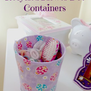 Recycle Your Flower Pots Into Cute Containers