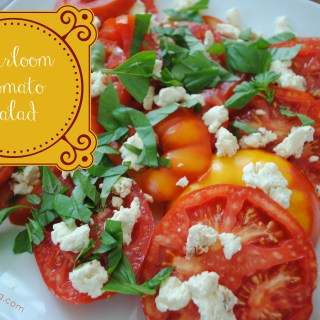 Heirloom Tomato Salad: Flour Too Cookbook Giveaway
