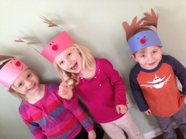 Reindeer crowns #xmascraftaday