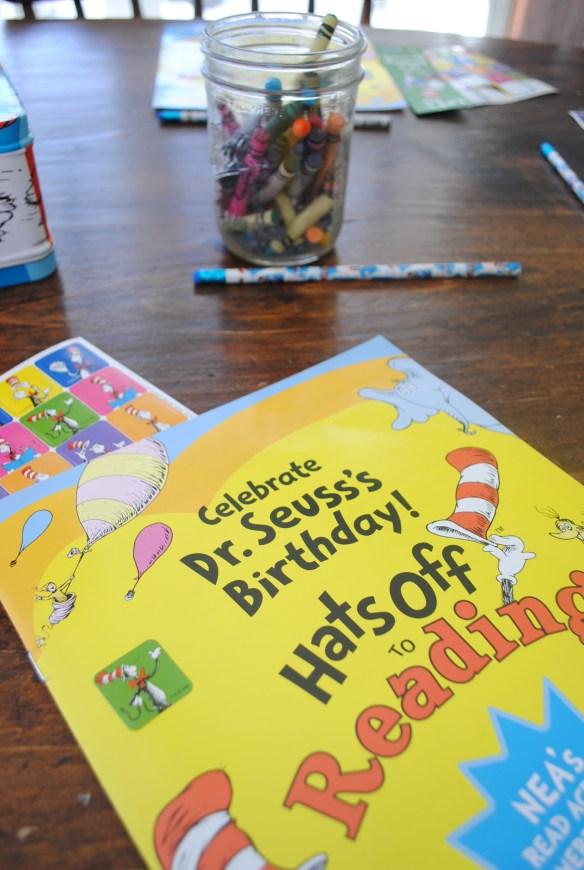 Dr Seuss Birthday Reading