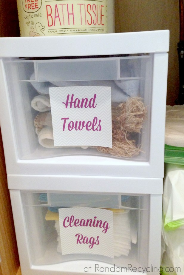 Create Cute Labels for Drawer Organizers