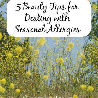 Save Face this Spring with Beauty Tips for Allergy Sufferers (courtesy of ZYRTEC®)