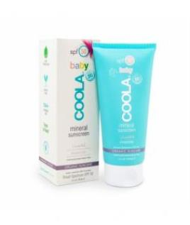 Coola baby sunscreen, EWG rating of 1