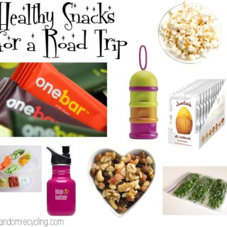 Healthy Snacks for a Road Trip {courtesy of OneBar}