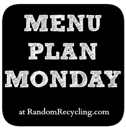 Monday meal plan to help organize family dinner