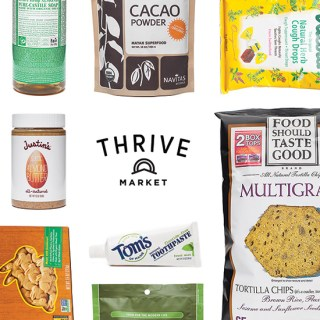 Meal Planning on the Go  {Thrive Market giveaway}