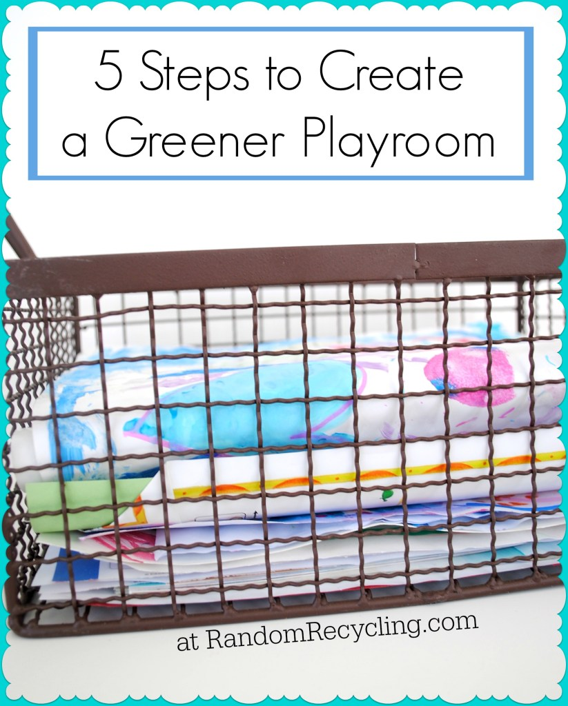 How to create an eco-friendly playroom